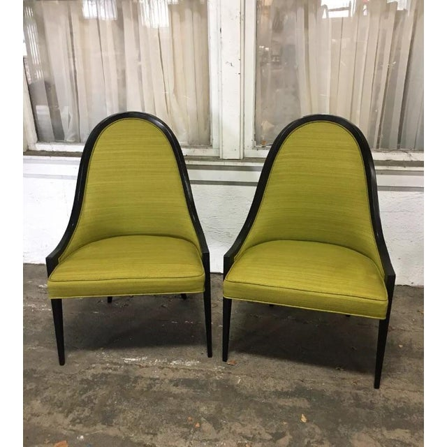 """Vintage Mid Century Harvey Probber """"Gondola"""" Chairs - A Pair For Sale In Los Angeles - Image 6 of 6"""