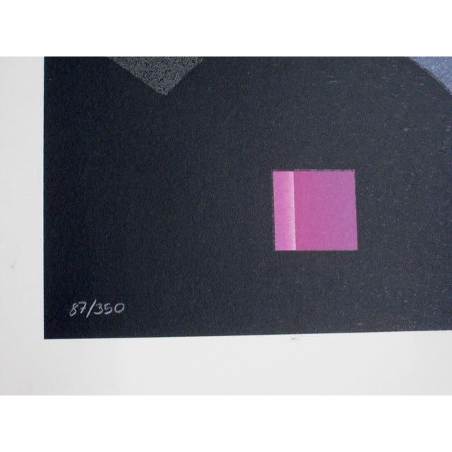 1980s Patrick Nagel Serigraph Style Signed Numbered Print For Sale In San Diego - Image 6 of 6