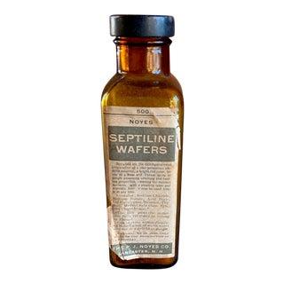 Antique Medicine Bottle, Vintage Doctors Pharmacy For Sale