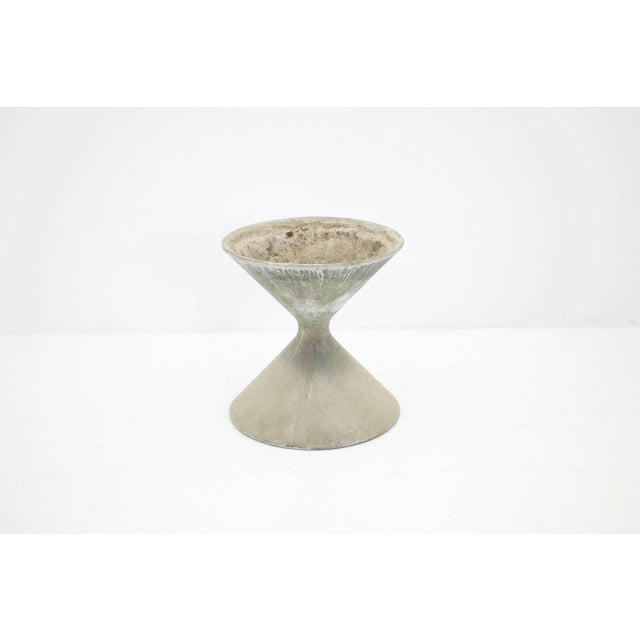 Gray Willy Guhl Concrete Planter, Germany 1960s For Sale - Image 8 of 8