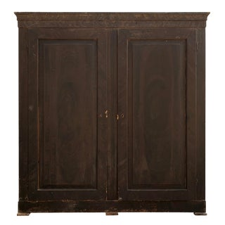 18th Century Italian Pine Cabinet For Sale