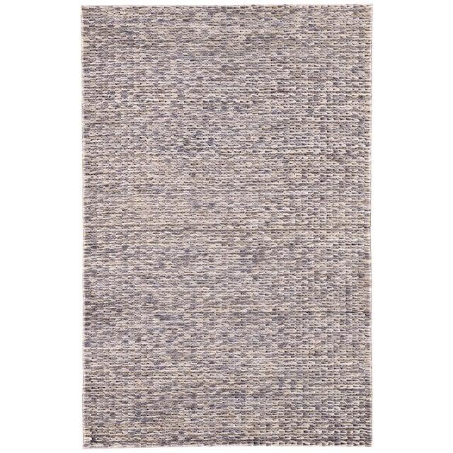 Jaipur Living Calista Natural Blue/ Light Gray Area Rug - 9′ × 12′ For Sale