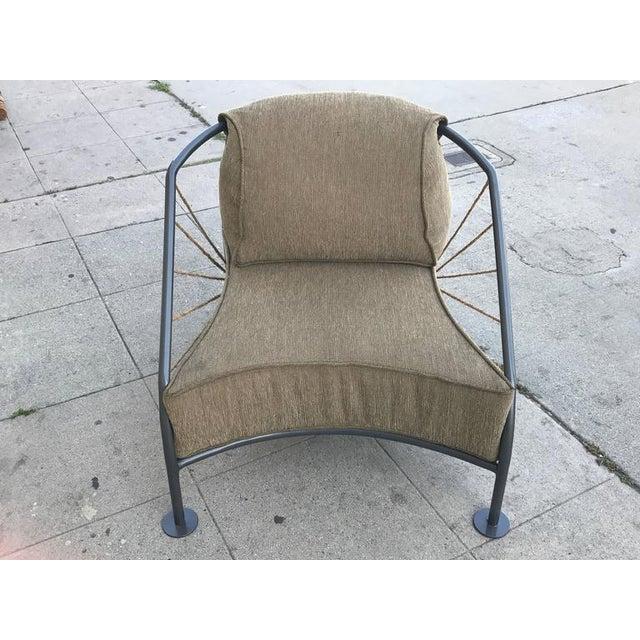 Steel & Metal Prototype Chair For Sale In Los Angeles - Image 6 of 6