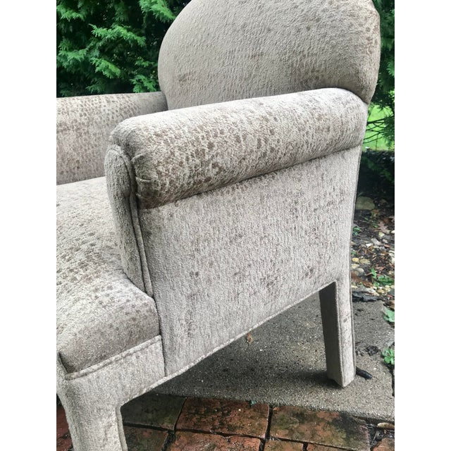 Kravet Contemporary Kravet Chairs - a Pair For Sale - Image 4 of 10