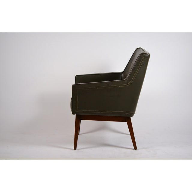Danish Modern Early Modernist Armchairs by Vista of California for Stow Davis - a Pair For Sale - Image 3 of 11