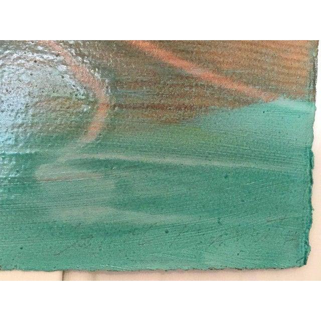 """2010s Carol Bennett """"Suspense Study"""" Figurative Swimmer Artwork on Paper, 2017 For Sale - Image 5 of 8"""
