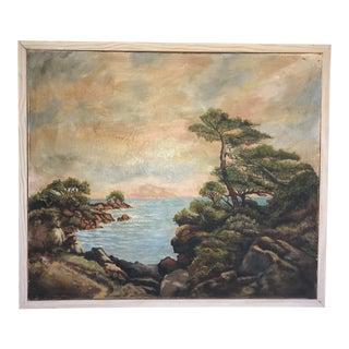 Vintage Original Impressionist Oil Painting