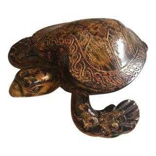 Ceramic Aquatic Turtle