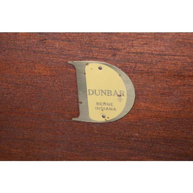 Edward Wormley for Dunbar Monumental Rosewood and Walnut Coffee Table, Newly Restored For Sale - Image 12 of 13