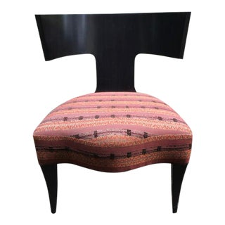 Donghia Neoclassical Klismos Chair
