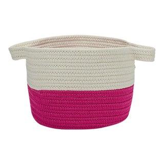 """Beach Bum Basket Magenta 15""""x15""""x12"""" Storage Basket"""