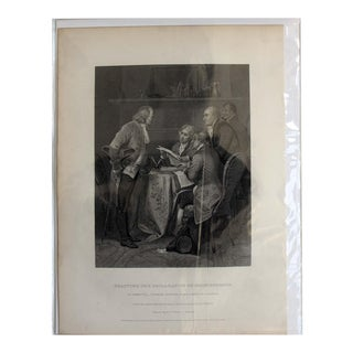 Drafting the Declaration of Independence, Print For Sale