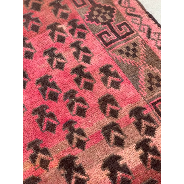 1940s Vintage Persian Baluchi Rug - 3′10″ × 6′1″ For Sale - Image 4 of 13