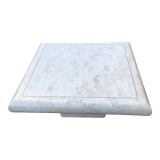 Maitland-Smith Tessellated Stone Coffee Table For Sale