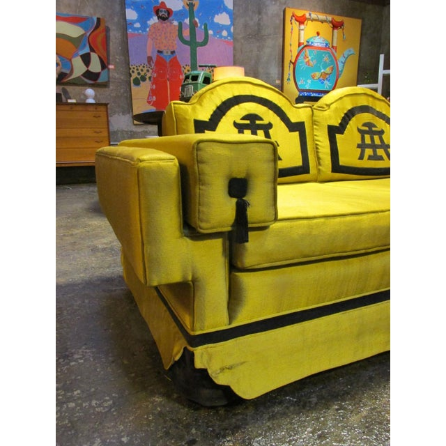 1950s Chinoiserie-Style Sofa - Image 2 of 6