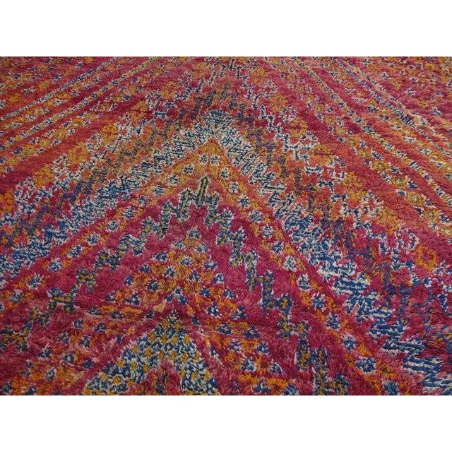 Beni Mguild Moroccan Berber Carpet For Sale - Image 4 of 10