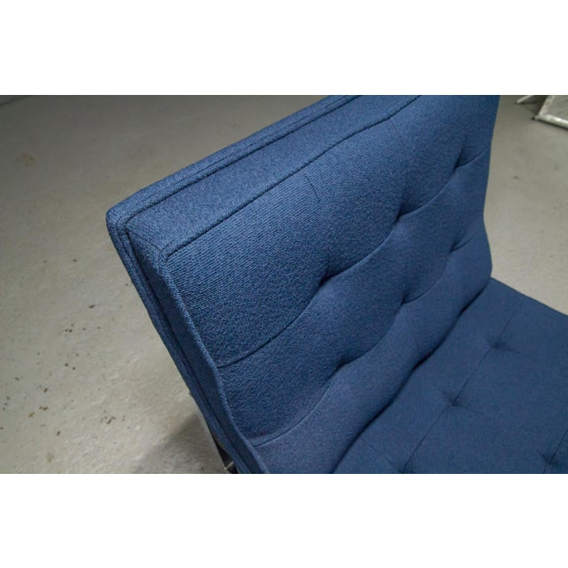 1960s Vintage Florence Knoll Armless Lounge Chair For Sale In Boston - Image 6 of 11