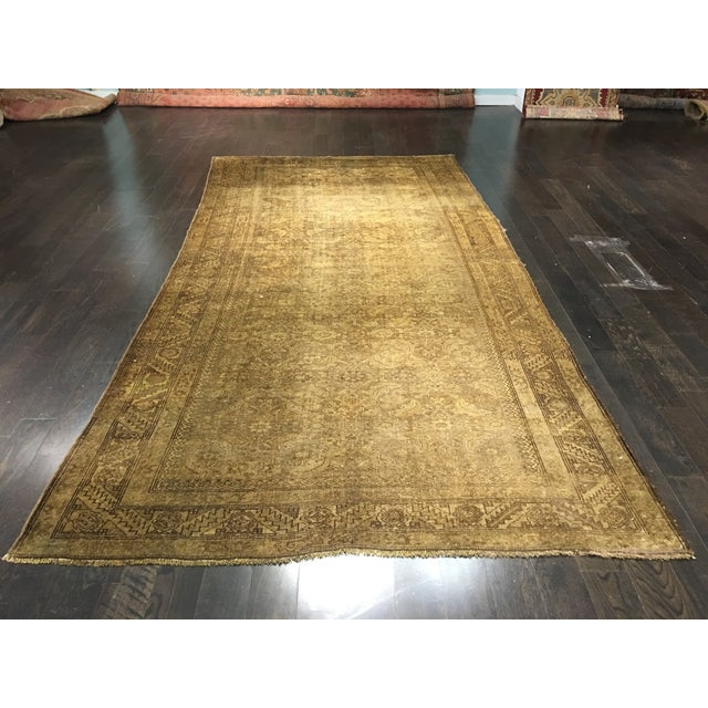 "Vintage Persian Malayer Rug - 5'11"" X 12' - Image 2 of 7"