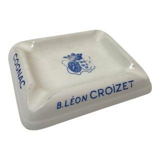 B. Leon Croizet Cognac Ashtray