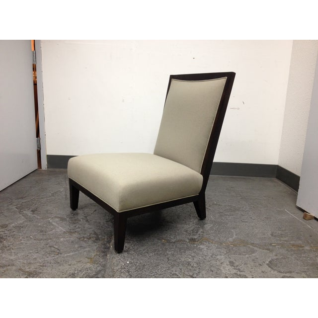 Contemporary Lorin Plain Lounge Chair - Image 6 of 9