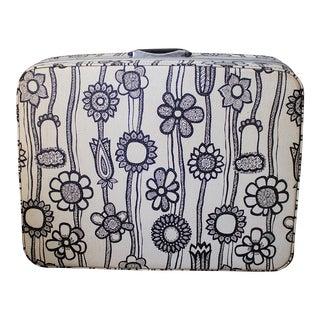 1960s Samsonite Floral Pop Luggage