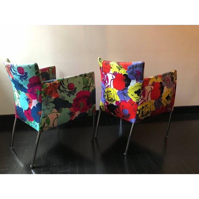Versace Pair of Chairs From the Versace Showroom, 1990s For Sale - Image 4 of 9