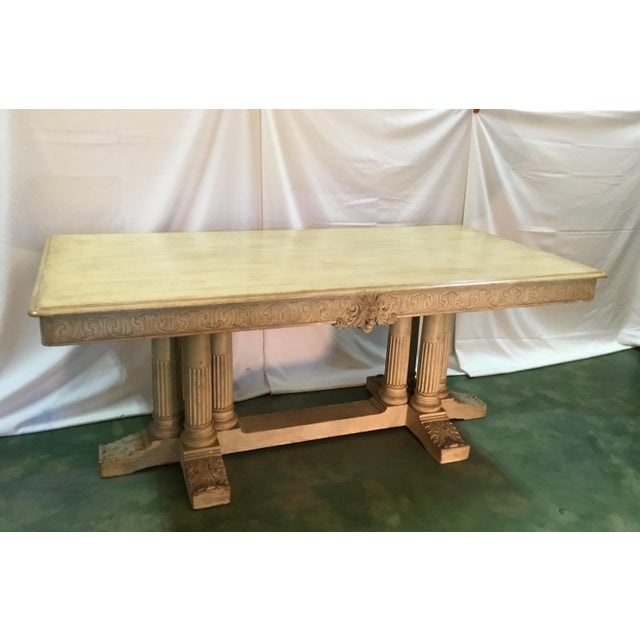 19th C. Carved Bacchus Mahogany Table For Sale - Image 13 of 13