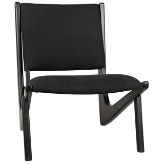 Boomerang Chair, Charcoal Black For Sale