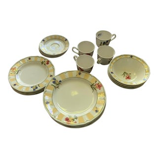 Noritake (NEW)Summer Estate Dinnerware Set - 20 Pieces, Reduced Final For Sale
