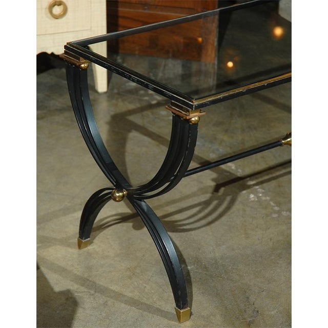 1940s Raymond Subes Attributed French Cocktail Table For Sale - Image 5 of 9
