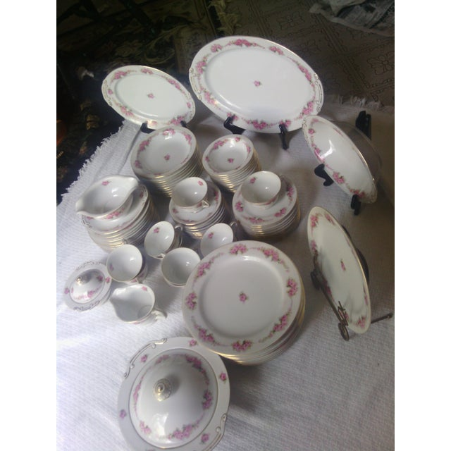 Orion Fine China Dinnerware Set - 89 Pieces - Image 3 of 11