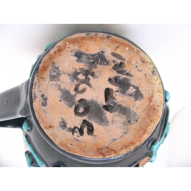 Ceramic Italian Ceramic Pitcher For Sale - Image 7 of 8