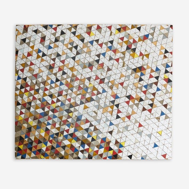 2010s Large Mixed Media Mosaic Panel Artwork by Michelle Peterson-Albandoz For Sale - Image 5 of 5