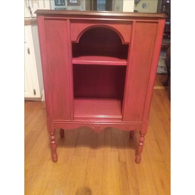 1940s Red Radio Cabinet - Image 2 of 6