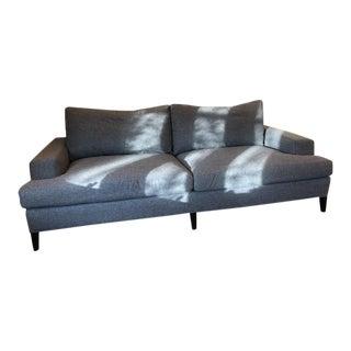 Kravet Remsen Ralph Lauren Upholstered Charcoal Sofa