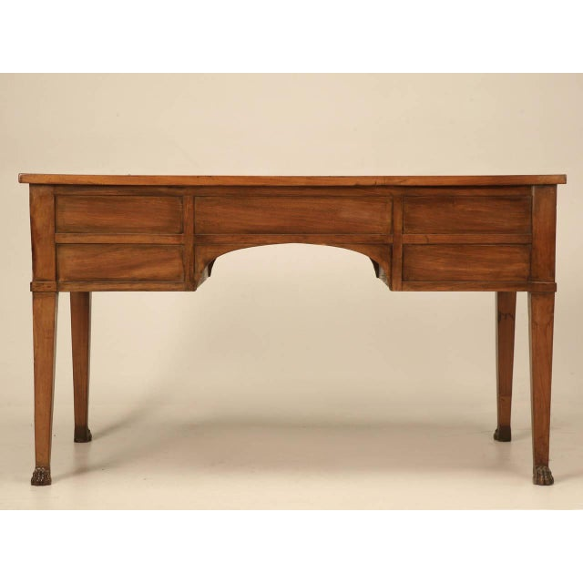 Antique French Mahogany Desk For Sale - Image 10 of 11