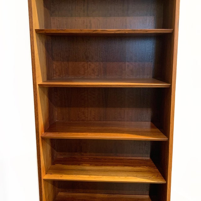Vintage Danish Rosewood Bookcase For Sale In Seattle - Image 6 of 6