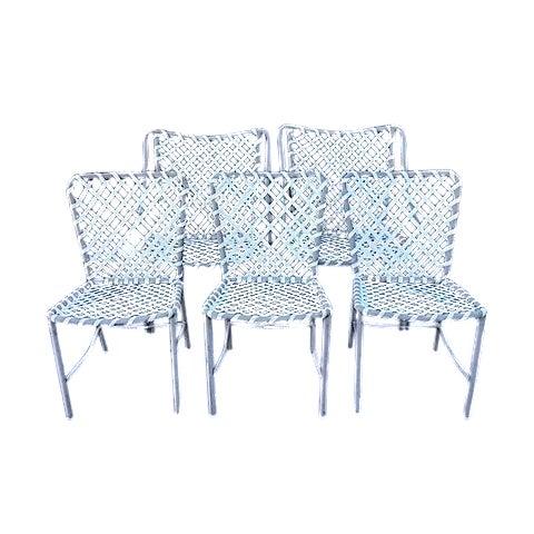 Vintage Brown Jordan Patio Chairs - Set of 5 - Image 1 of 8