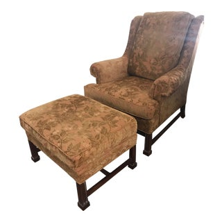 Southwood Chair and Ottoman For Sale