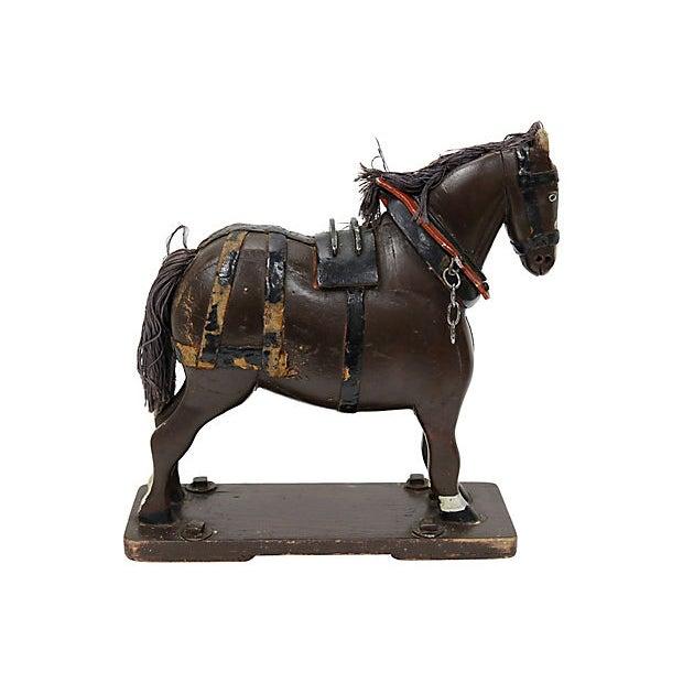 Folk Art Antique French Folk Art Horse For Sale - Image 3 of 5
