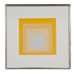 """Modern Josef Albers """"Homage to the Square"""" Print For Sale - Image 3 of 3"""