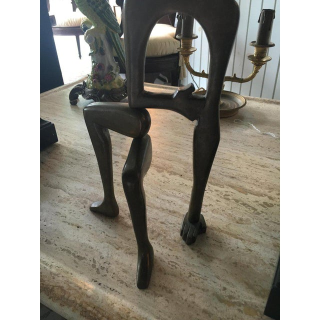 Brass Mid-Century Brass Sculpture by Arleen Eichengreen and Nancy Gensburg For Sale - Image 7 of 8