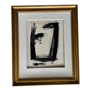 Abstract Pastel Charcoal by Kimberly Moore For Sale