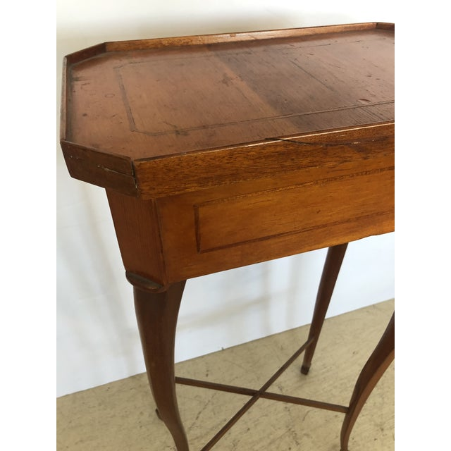 19th Century Biedermeier Side Table or Stand For Sale - Image 4 of 12