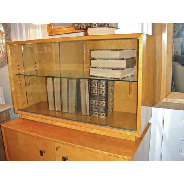 Swedish Flame Birch Cabinet - Image 4 of 7