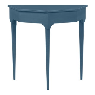 Annette Entry Console, Van Duesen Blue For Sale