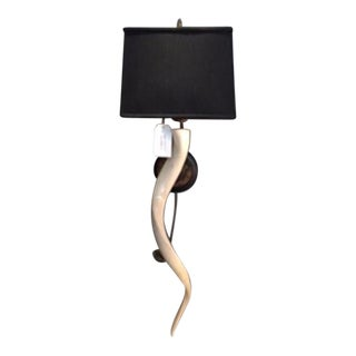 African Kudu Horn Sconce For Sale