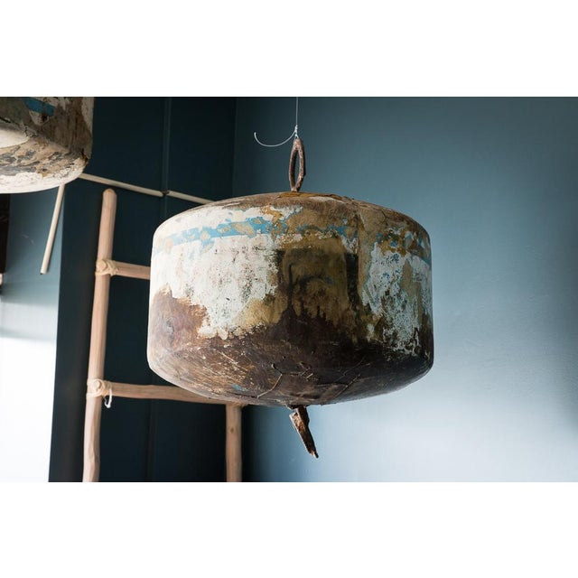 Decorating a lake or beach house? Make a statement with these large vintage mooring buoys. We have them hung but they can...