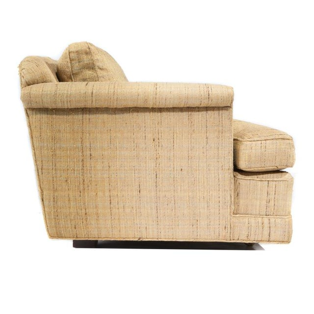Textile FOUR-SEAT SOFA BY EDWARD WORMLEY FOR DUNBAR For Sale - Image 7 of 9