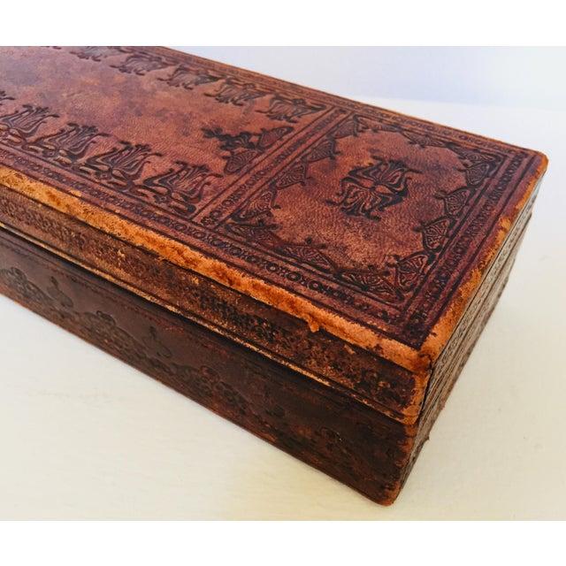 """Art Deco French Antique Glove Box by """"A La Marquise De Sevigne Paris"""" For Sale - Image 3 of 12"""